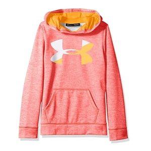 Under Armour Girls' Fleece Big Logo Novelty hoodie